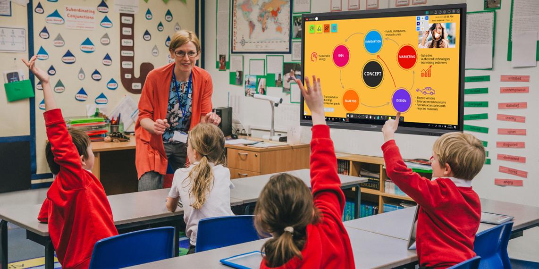 3 lý do để ứng dụng màn hình cảm ứng vào lĩnh vực giáo dục