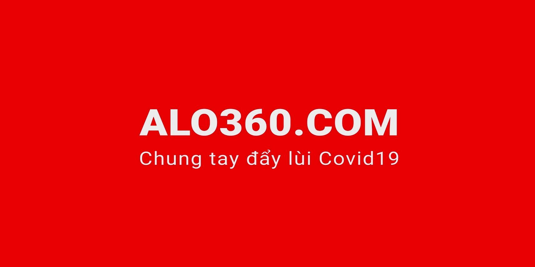 ALO360.COM chung tay đẩy lùi Covid-19