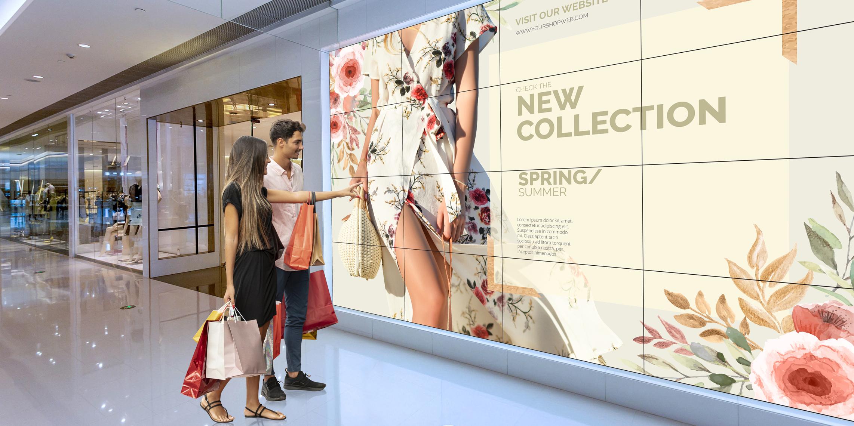 Quảng cáo công nghệ cao bằng màn hình ghép