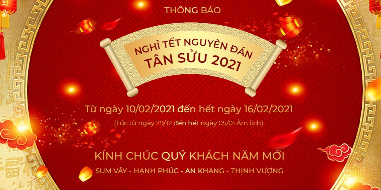 Công ty Cổ phần ALO360.COM thông báo lịch nghỉ Tết Tân Sửu 2020