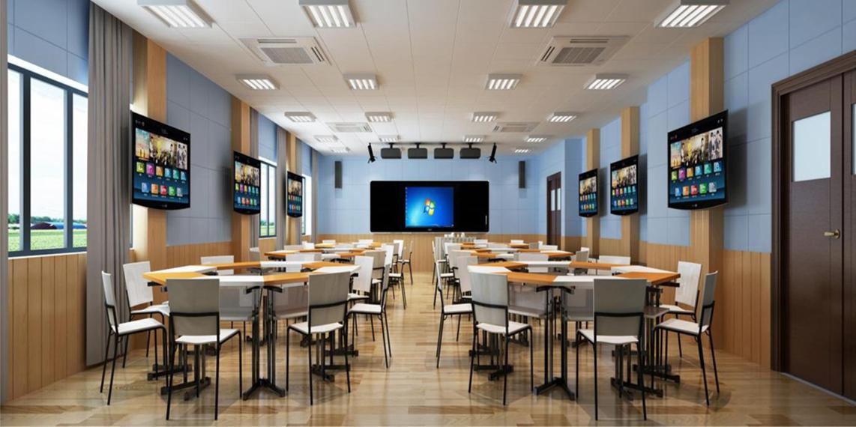 Giới thiệu mô hình phòng học thông minh với màn hình cảm ứng