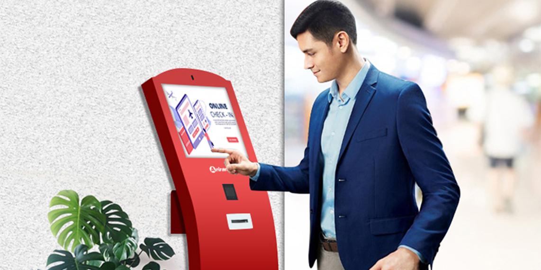 Giải pháp Kiosk giảm thời gian chờ đợi, duy trì giãn cách xã hội hiệu quả