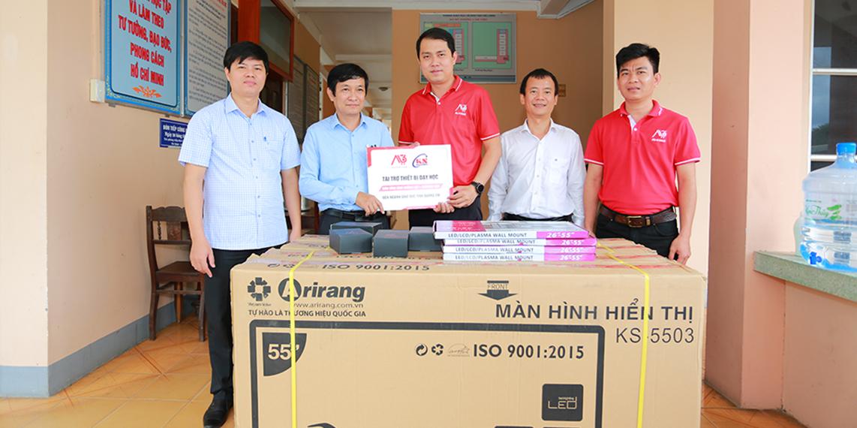 ALO360 gửi nắng ấm về miền Trung - Ươm mầm trí thức Việt