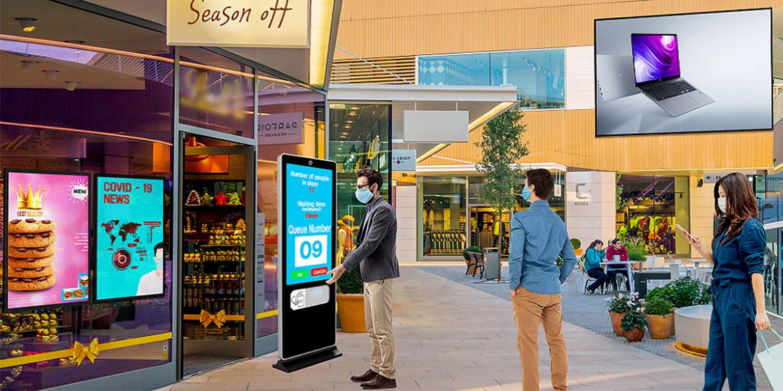Đánh giá hiệu quả giải pháp màn hình quảng cáo cho trung tâm thương mại