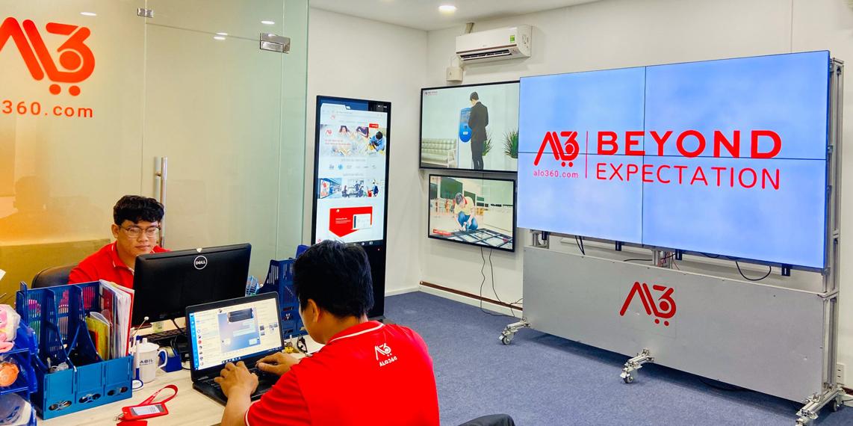 ALO360 khai trương Showroom Giải pháp hiển thị kỹ thuật số đầu tiên tại TP.HCM