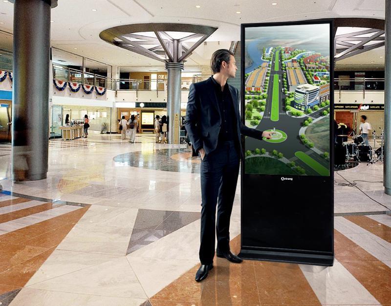 Màn hình quảng cáo chân đứng